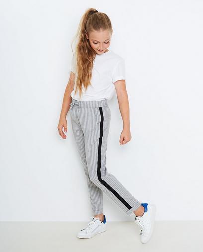 Pantalon met pinstripe